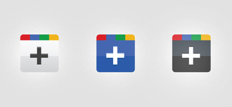Google Plus(+) Icons