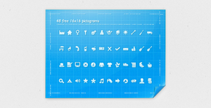 48 16x16 Pictograms