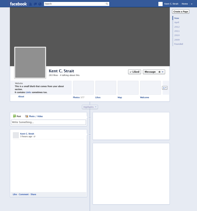 Facebook template for project selol ink facebook template for project friedricerecipe
