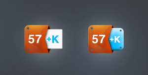 Klout Icons