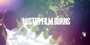 Luster Film Burns