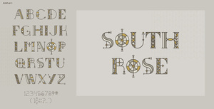 South Rose Typeface
