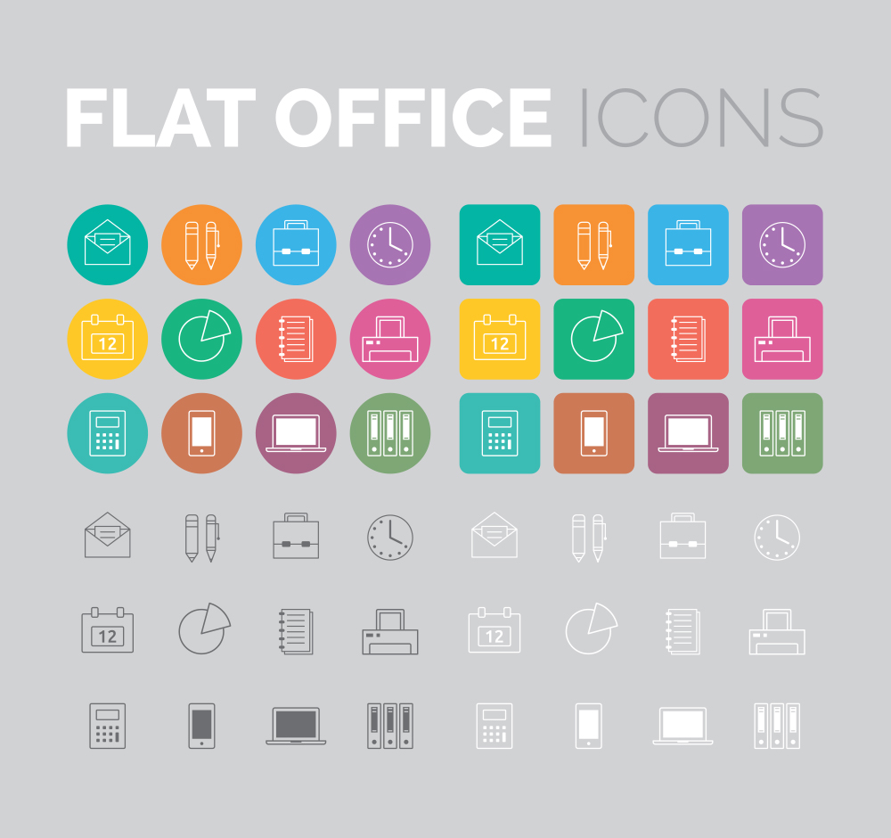 flat-office-icons-eps-vector